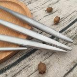 신제품 처분할 수 있는 플라스틱 은은 숟가락 포크 칼 칼붙이 세트를 입혔다