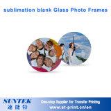 12 do '' quadros de vidro em branco da foto sublimation com pulso de disparo