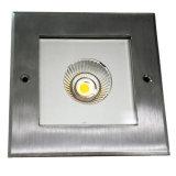 COB 6W LED Underground Light, LED Deck Light, Lampadaire
