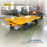 Cuatro ruedas que dirigen el acoplado del transporte para el portador del cargo