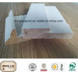 Bâti d'enveloppe plat de montant de porte de porte en bois faite sur commande