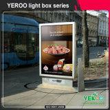 Deslocamento da tela com lata de lixo - Deslocamento da caixa de luz - Móveis ao ar livre