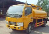 Camion fécal 3000 L camion-citerne aspirateur d'aspiration de Dongfeng 4X2 fécal de vide