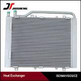 Réfrigérant à huile avec l'échangeur de chaleur d'ailette de plaque pour Daewoo