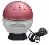 Purificador Desktop interno elétrico do ar do quarto do diodo emissor de luz