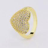 De recentste Juwelen Van uitstekende kwaliteit van de Ring van de Charme van de Diamant van Zircon van het Ontwerp