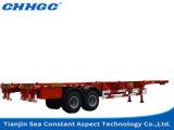 Eixos do fabricante 3/4/5 de China 50/80/100 do leito de tonelada de caminhões e reboques resistentes Semi para a venda