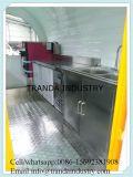De hete Aanhangwagen van Bbqbar van het Gas van de Kwaliteit van de Verkoop Beste