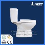 Neue Entwurfs-gesundheitliche Ware-zweiteilige Toilette mit Fabrik-Preis