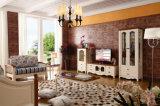 Sofà di legno del salone della mobilia del sofà di ultimo disegno