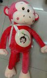 Jouet mou de taille de peluche de peluche de singe géant de jouet à vendre