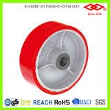 Rodízio resistente vermelho do plutônio (P701-46D150X50Z)