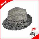Sombrero del sombrero de ala de la manera, sombrero de paja de papel