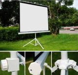 Stativ-Bildschirm-Projektor-Bildschirm-Projektion