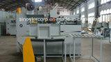 Doppelter halbautomatischer gewölbter Servokasten-nähende Maschine