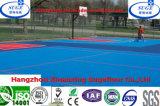 Suelo al aire libre antirresbaladizo impermeable del baloncesto de la Mulit-Función