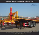 20 3 Axle контейнера сброса Semi Tipper футов трейлера тележки с Axle BPW и системой Hyva гидровлической