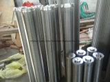 Обращенный свернутый элемент цилиндра провода патрона фильтра/клина