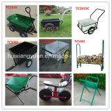 Carro da ferramenta de jardim Tc2145/carro poli acessível da descarga