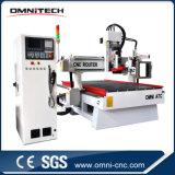 Legno 1325 della macchina di CNC che funziona con il tipo del carosello per Ce