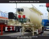 Tri Axle 55cbm сушит навальную тележку трейлера бака цемента