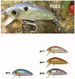 le prix bon marché de l'usine de flottement de 45mm --- La qualité a fait Crankbait de pêche en plastique dur fait sur commande - Wobbler - attrait de pêche de Popper de cyprins