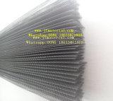 Hohes Quanlity Polyester-u. Fiberglas-Plissee-Insekt-Bildschirm-Ineinander greifen
