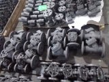 Valvola a saracinesca d'acciaio forgiata con la flangia o il filetto