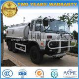 道6X6 180 HPを離れた高品質Dongfengはエクスポートのためのタンク車に燃料を供給する