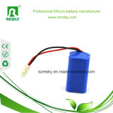 Dreieck nachladbare 12V 2000mAh Li-Ionbatterie für Rasen-Lampe, Sonnenkollektor