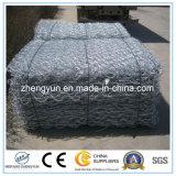 中国製Gabionボックス六角形の電流を通されたGabion