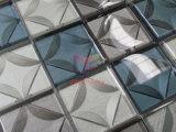 водоструйная мозаика украшения кристаллический стекла вырезывания 3D для стены (CFC685)