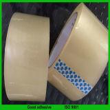 Fita de embalagem adesiva de baixo nível de ruído
