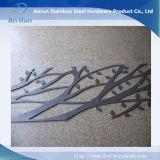 Hoja de corte del laser del acero inoxidable para la placa de Decoratitve