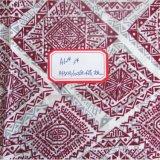 Duidelijke Geweven Kunstmatige Katoenen Stof Afgedrukt Dame Dress Fabric