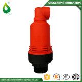 Plástico de riego de la válvula del desbloquear del aire de la agricultura