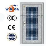 Porte en acier de garantie extérieure extérieure de Sunproof de l'acier inoxydable 304 (W-GH-13)
