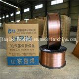 провод заварки Er70s-6 MIG твердого тела газовой защиты СО2 от 0.6mm до 1.6mm Мед-Покрытый