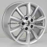 Prata popular para a roda do automóvel do carro da réplica de Audi