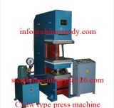 Máquina de vulcanización hidráulica de goma de la prensa
