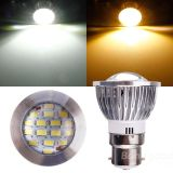 E14 E27 MR16 B22 GU10 6W 16PCS 5730SMD Spotlight LED com lâmpada de alumínio de carro LED Spot Lights