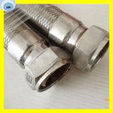 Manguera espiral flexible del metal flexible de la manguera del metal del acero inoxidable de la manguera del metal