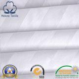 Белые простыни Cotton/CVC для гостиницы/стационара/домашнего с нашивкой сатинировки