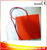 Riscaldatore di gomma del silicone del rilievo di riscaldamento di Slicone di uso caldo bagnato del tessuto