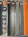 盲目の人々のスリップ防止ゴム製床タイルのタクタイルストリップ