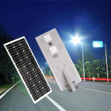 ISO9001 indicatore luminoso solare 60W tutto in un indicatore luminoso di via solare Integrated del LED