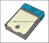 Bloc-notes/tampon de mémoire dans le bac papier