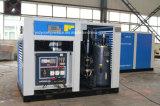Diesellaufwerk-bewegliche doppelte Schrauben-Luft abgekühlter Kompressor