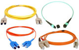 2.0mm PVC光学FC-FCファイバーのジャンパーSmのシンプレックス光ファイバパッチ・コード