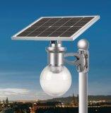 Réverbère solaire complet imperméable à l'eau de DEL avec le panneau solaire réglable